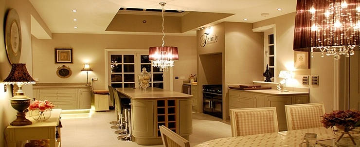 Lumley Farmhouse Kitchen Lighting Control